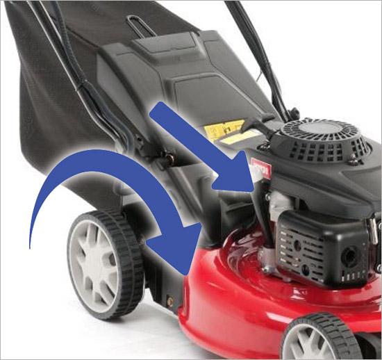 mit elektro start mtd smart 46 benzin motor rasenm her radantrieb selbstfahrer ebay. Black Bedroom Furniture Sets. Home Design Ideas