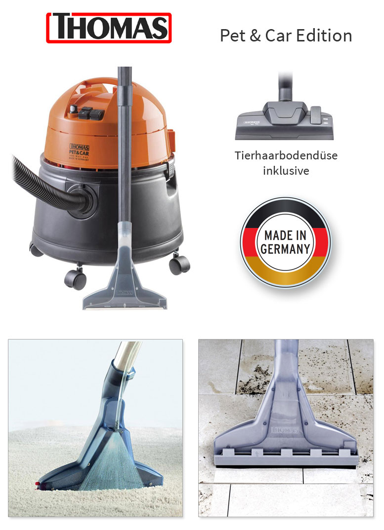 THOMAS Pet & Car Waschsauger SprühExtraktionssauger