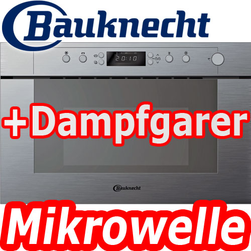 bauknecht emsp 9238 pt edelstahl einbau mikrowelle dampfgarer 60 cm microwelle ebay. Black Bedroom Furniture Sets. Home Design Ideas