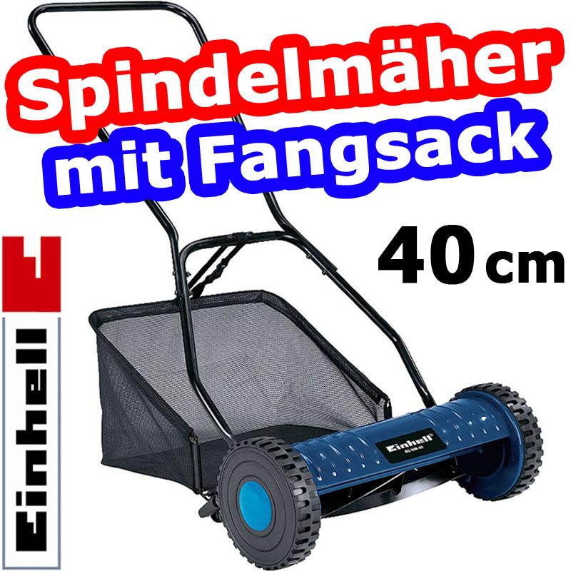 einhell bg hm 40 spindelm her inkl fangsack. Black Bedroom Furniture Sets. Home Design Ideas