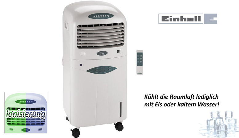 einhell lk 75 luftk hler luftw sche klimager t klimaanlage l fter luftbefeuchter ebay. Black Bedroom Furniture Sets. Home Design Ideas