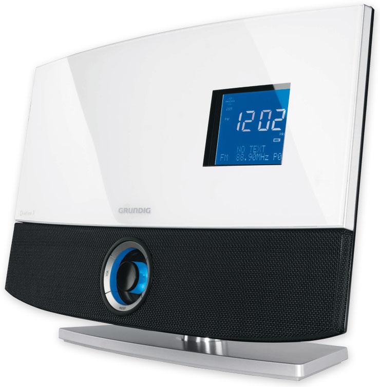 grundig ovation 3 mini stereo anlage verst rker cd player. Black Bedroom Furniture Sets. Home Design Ideas