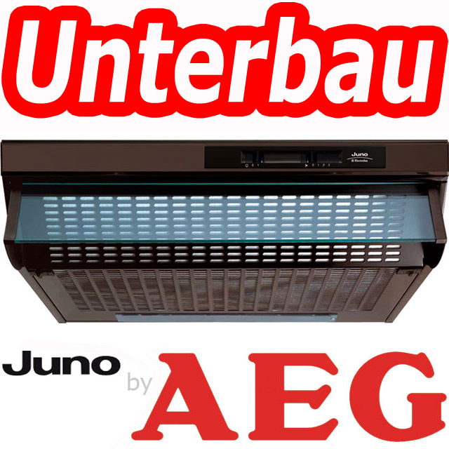 juno by aeg electrolux 60cm unterbau haube dunstabzugshaube braun dunstesse top ebay. Black Bedroom Furniture Sets. Home Design Ideas