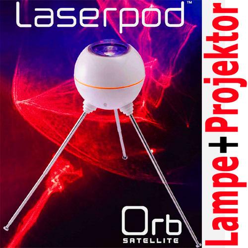 laserpod orb galaxy laser lampe sternenhimmel leuchte led projektor spot. Black Bedroom Furniture Sets. Home Design Ideas