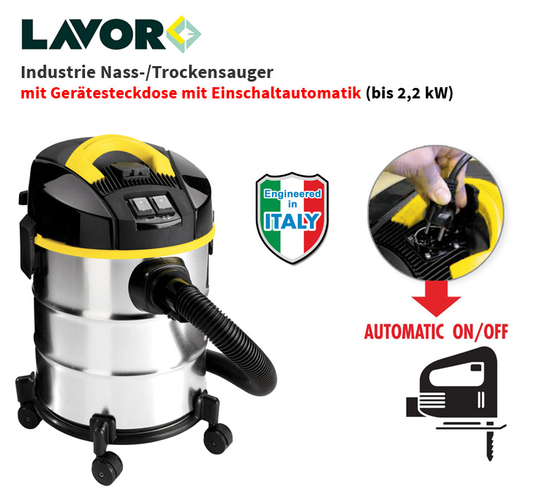 lavor nt venti xe evo prof nass trocken sauger mit ger te steckdose 20 l neu ovp ebay. Black Bedroom Furniture Sets. Home Design Ideas