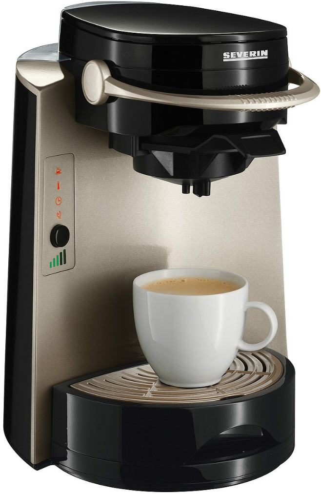 severin 4in1 kaffeemaschine kaffee pad maschine neu ovp ebay. Black Bedroom Furniture Sets. Home Design Ideas