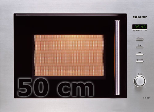 sharp edelstahl einbau mikrowelle 50 cm display 12 programme einbaumikrowelle. Black Bedroom Furniture Sets. Home Design Ideas