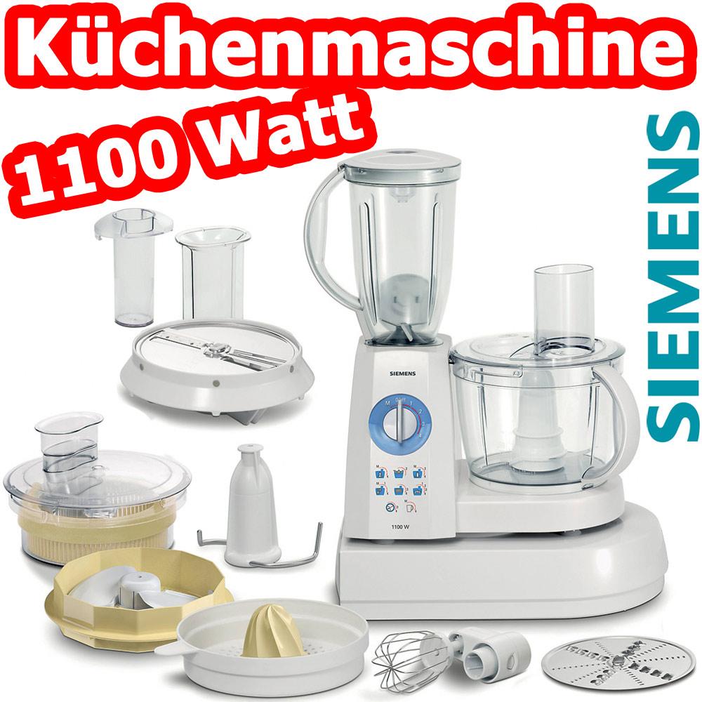 Siemens 1100 Watt Profi Kuchenmaschine Mixer Zitruspresse