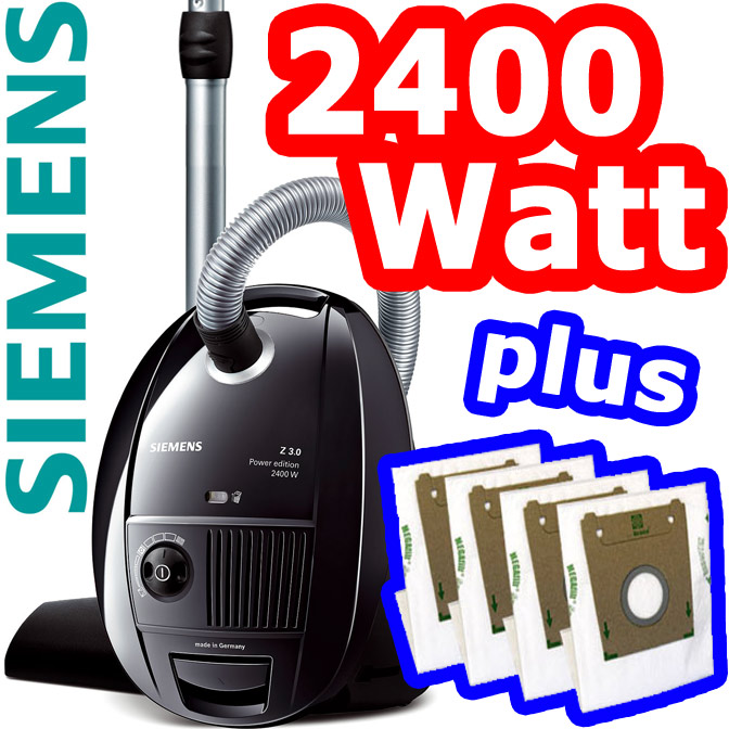 siemens 2400 watt boden staubsauger hnl vs06g2410 neu mit auto kabeleinzug ebay. Black Bedroom Furniture Sets. Home Design Ideas