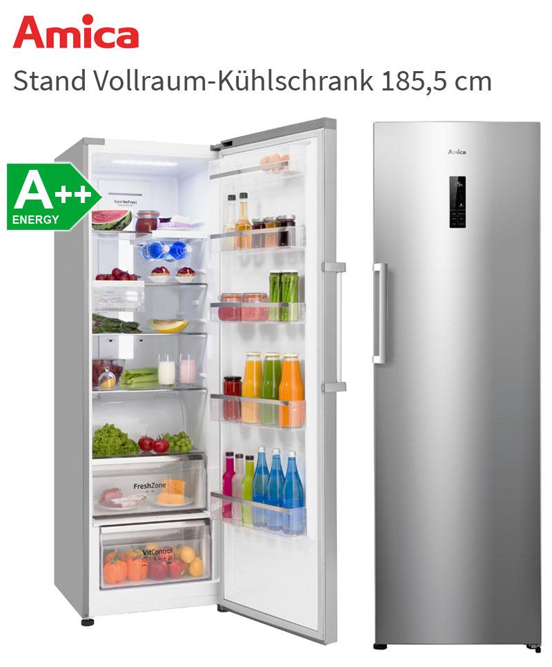 Amica 360 Liter XL Stand Kühlschrank A Vollraum