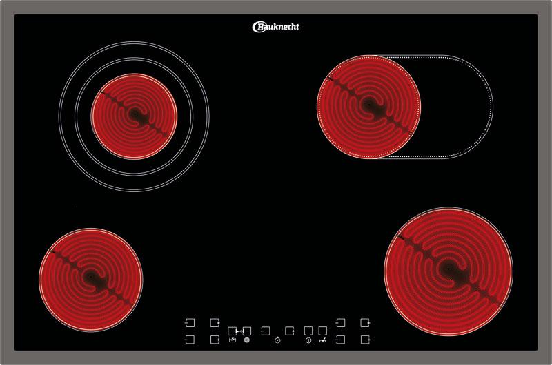 bauknecht etcv 7740 in glaskeramik kochfeld 77 cm kochfeld. Black Bedroom Furniture Sets. Home Design Ideas