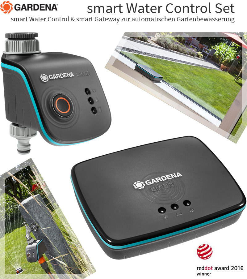 gardena smart watercontrol set garten bew sserungs system computer zeitschaltuhr ebay. Black Bedroom Furniture Sets. Home Design Ideas