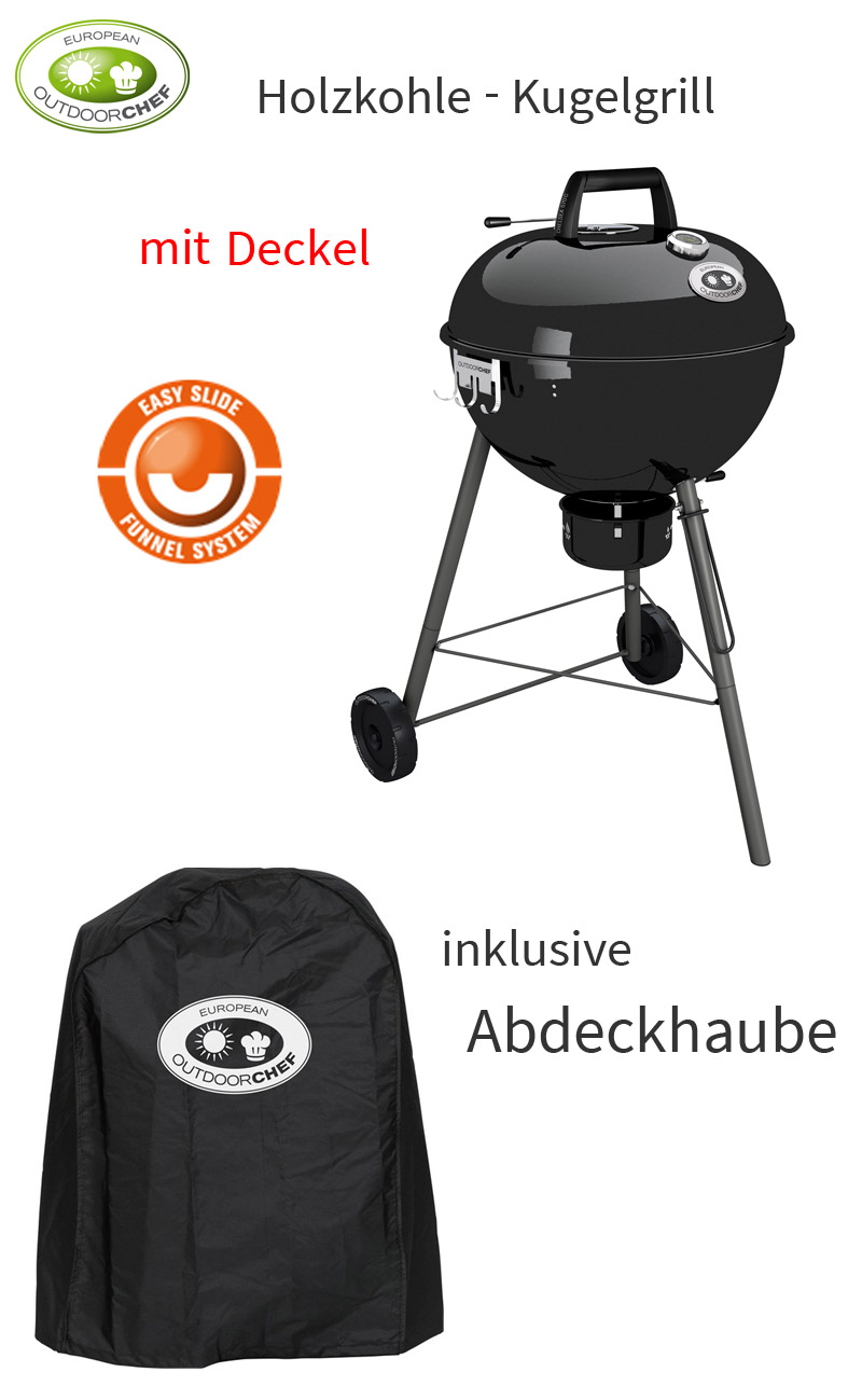 outdoorchef chelsea 570c holzkohle kugel grill grillwagen bbq stand garten grill ebay. Black Bedroom Furniture Sets. Home Design Ideas