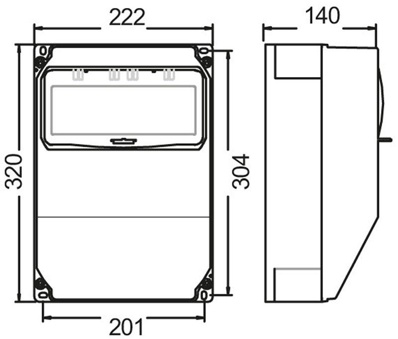 pce wandverteiler anif7 bv 1x16 5 2xssd baustrom. Black Bedroom Furniture Sets. Home Design Ideas