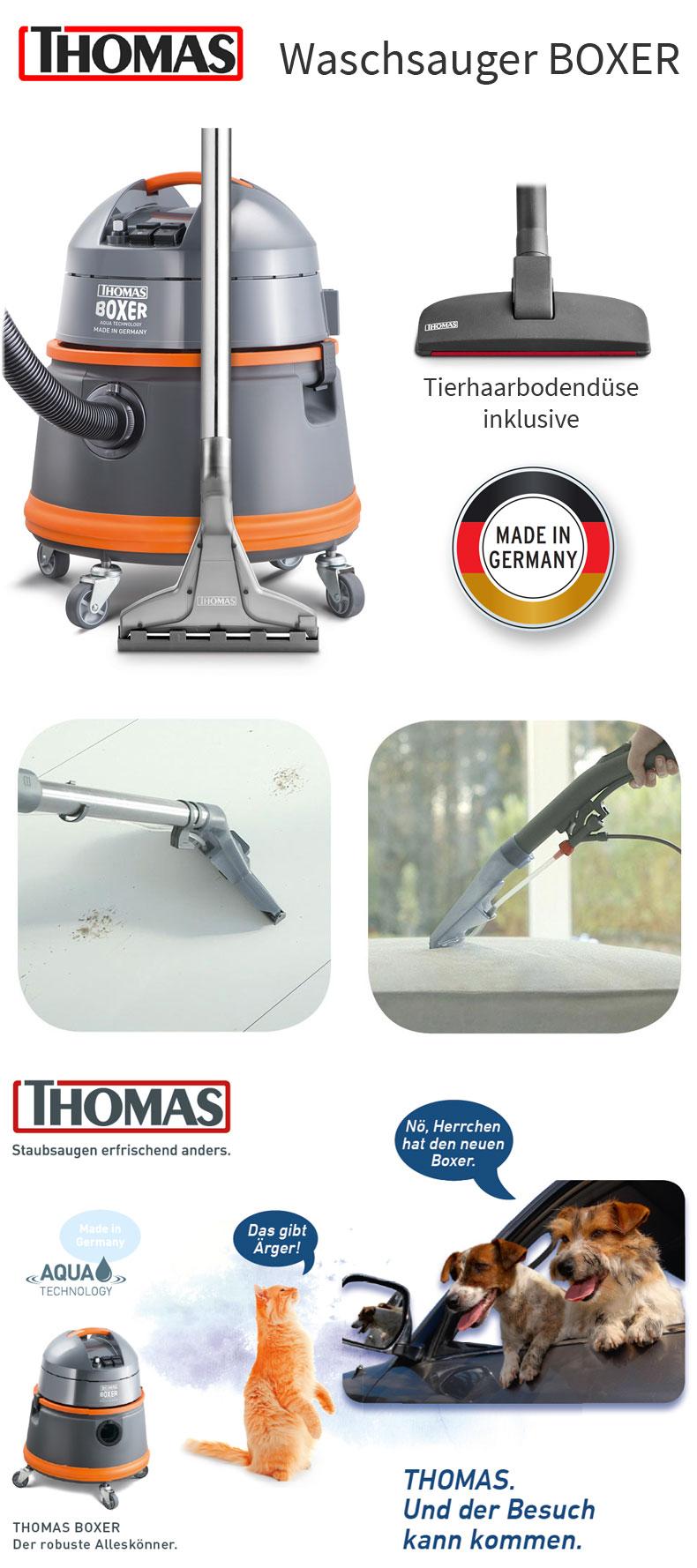 THOMAS Waschsauger SprühExtraktionssauger Teppich Boden