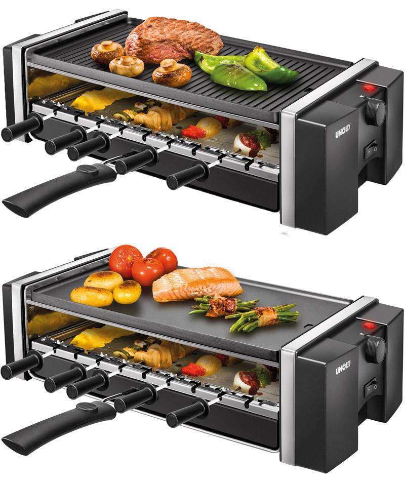 unold grill kebab raclette tisch elektro grill 9 sich drehende roto spie e ebay. Black Bedroom Furniture Sets. Home Design Ideas